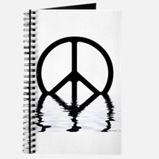 Peace Sign Sinking Journal