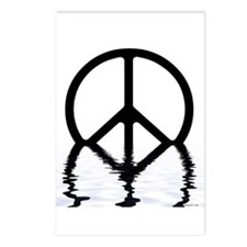 Peace Sign Sinking Postcards (Package of 8)