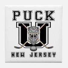 New Jersey Hockey Tile Coaster