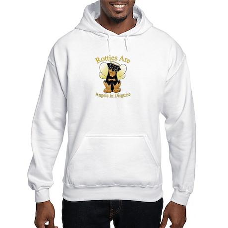 My Rottie is an Angel Hooded Sweatshirt