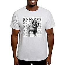 Urban Bulldog I Ash Grey T-Shirt