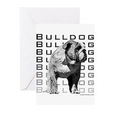 Urban Bulldog I Greeting Cards (Pk of 10)