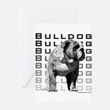 Urban Bulldog I Greeting Cards (Pk of 10)