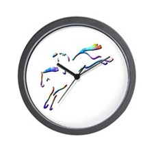 Steeple Chase Wall Clock