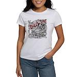 Brick Wall Bully Design Women's T-Shirt