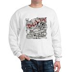 Brick Wall Bully Design Sweatshirt