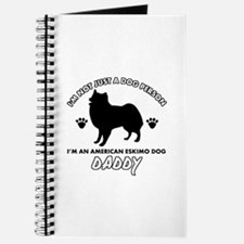American Eskimo Dog Daddy designs Journal