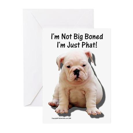 """Big Boned"" Design Greeting Cards (Pk of 10)"
