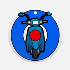 Scooter Target Ornament (Round)