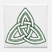 Celtic Knot Tile Coaster
