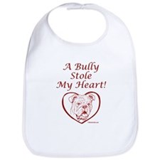 """My Heart"" Red Bib"