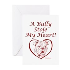 """""""My Heart"""" Red Greeting Cards (Pk of 10)"""