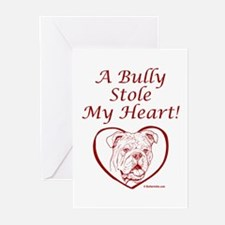 """My Heart"" Red Greeting Cards (Pk of 10)"