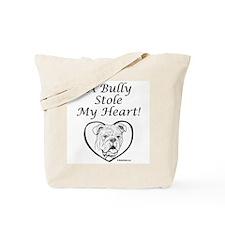 """My Heart"" Black Tote Bag"