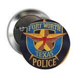 Fort Worth Police Button