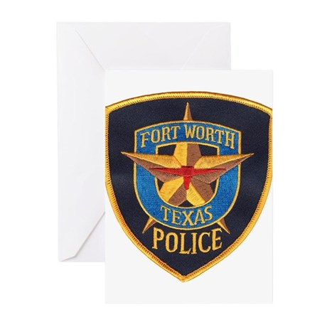 Fort Worth Police Greeting Cards (Pk of 10)