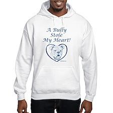"""""""My Heart"""" Blue Hoodie"""