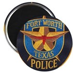 Fort Worth Police Magnet