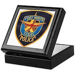 Fort Worth Police Keepsake Box