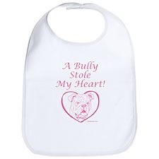 """My Heart"" Pink Bib"