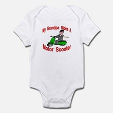 Grandpa Rides A Scooter Infant Bodysuit