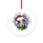 Red Heeler Herding Dog Ornament