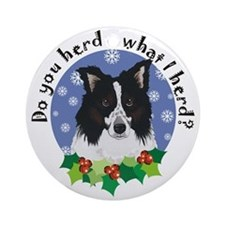 Border Collie Do you Herd Ornament