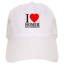 I Love Homer, Alaska Baseball Baseball Cap