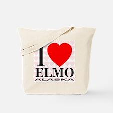 I Love Elmo, Alaska Tote Bag
