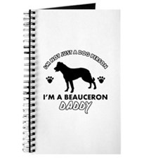 Beauceron Daddy designs Journal