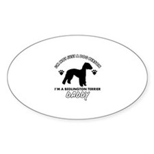 Bedlington terrier Daddy designs Decal