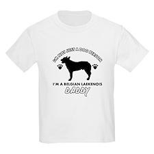 Belgian Laekenois Daddy designs T-Shirt
