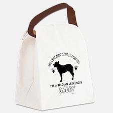Belgian Laekenois Daddy designs Canvas Lunch Bag