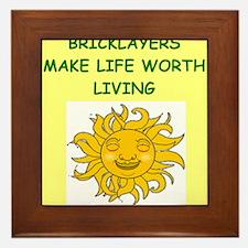 bricklayer Framed Tile
