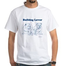 Bulldog Lover Blue Shirt