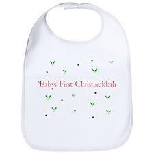 Babys First Christmukkah Bib