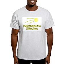 Watch Out Ash Grey T-Shirt