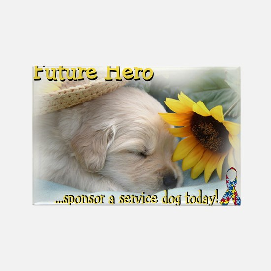 Future hero sponsor a service dog today! Magnets