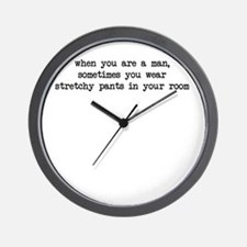 Stretchy Pants Wall Clock