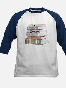 Teach... Learn Kids Baseball Jersey