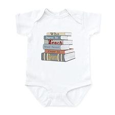 Teach... Learn Infant Bodysuit