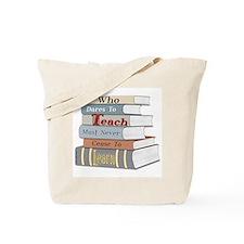 Teach... Learn Tote Bag