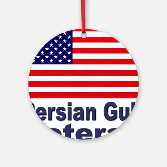 Persian Gulf Veteran Ornament (Round)