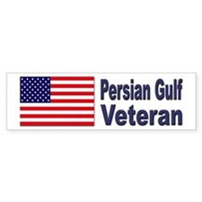 Persian Gulf Veteran Bumper Bumper Sticker