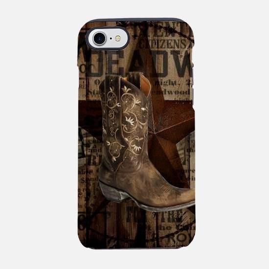 western cowboy iPhone 7 Tough Case