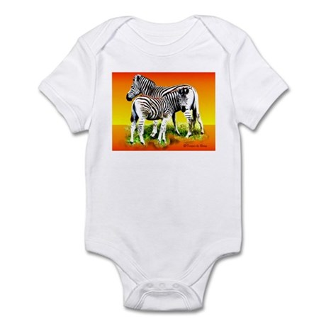 Zebra Mother & Baby - Infant Bodysuit