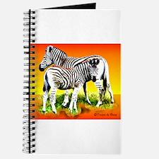 Zebra Mother & Baby - Journal