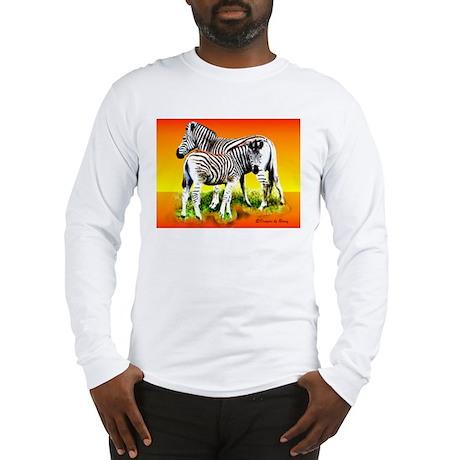 Zebra Mother & Baby - Long Sleeve T-Shirt