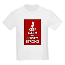 Keep Calm Jersey Strong T-Shirt
