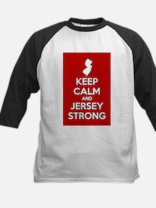 Keep Calm Jersey Strong Baseball Jersey